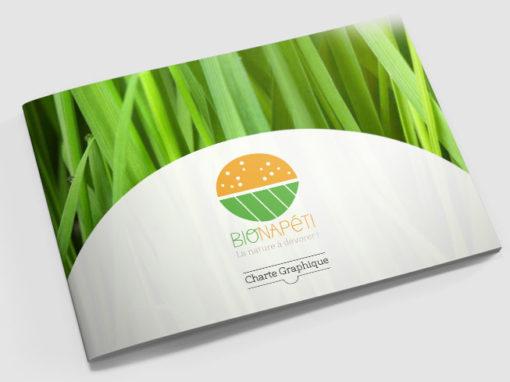 Le logo et la charte graphique BioNapéti