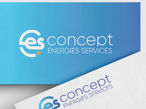 L'identité visuelle de Concept Énergies Services
