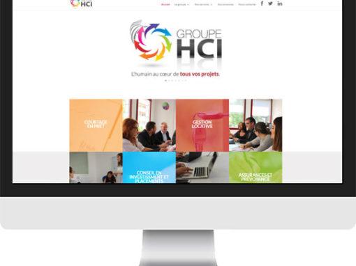 Le site du Groupe HCI