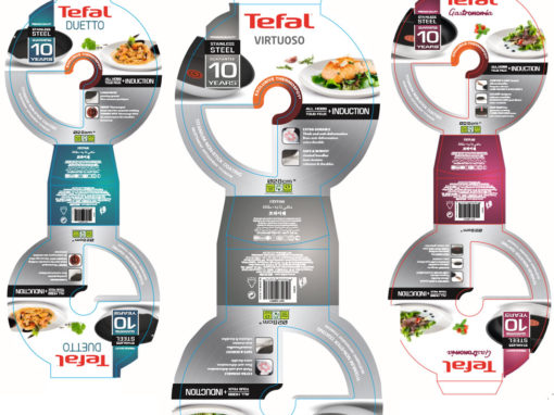 Le packaging TEFAL